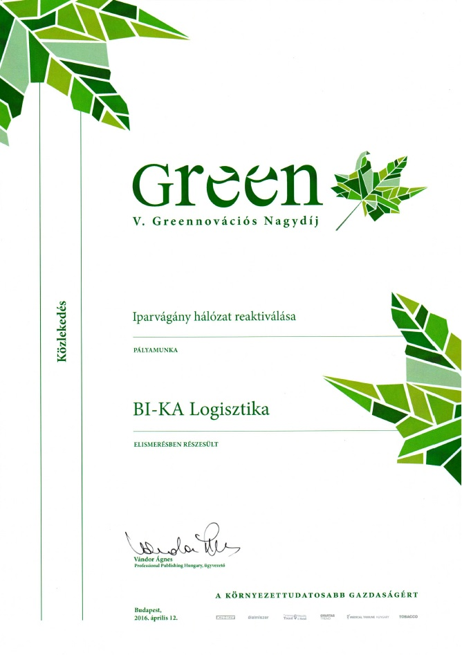 greenováció