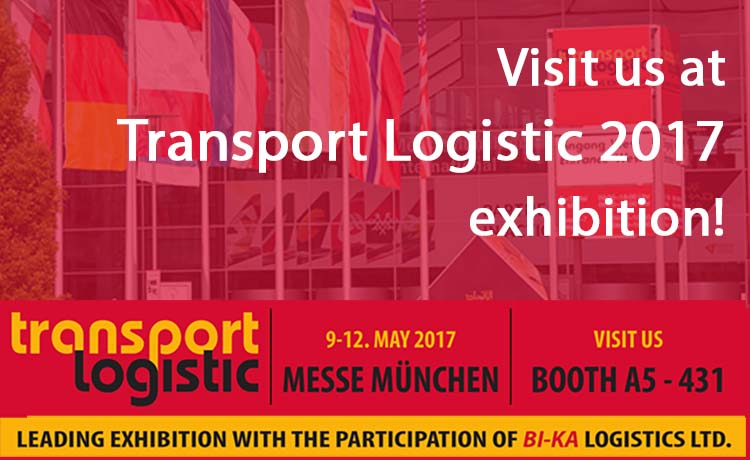 BI-KA Logistics at Transport Logistic 2017 exhibition