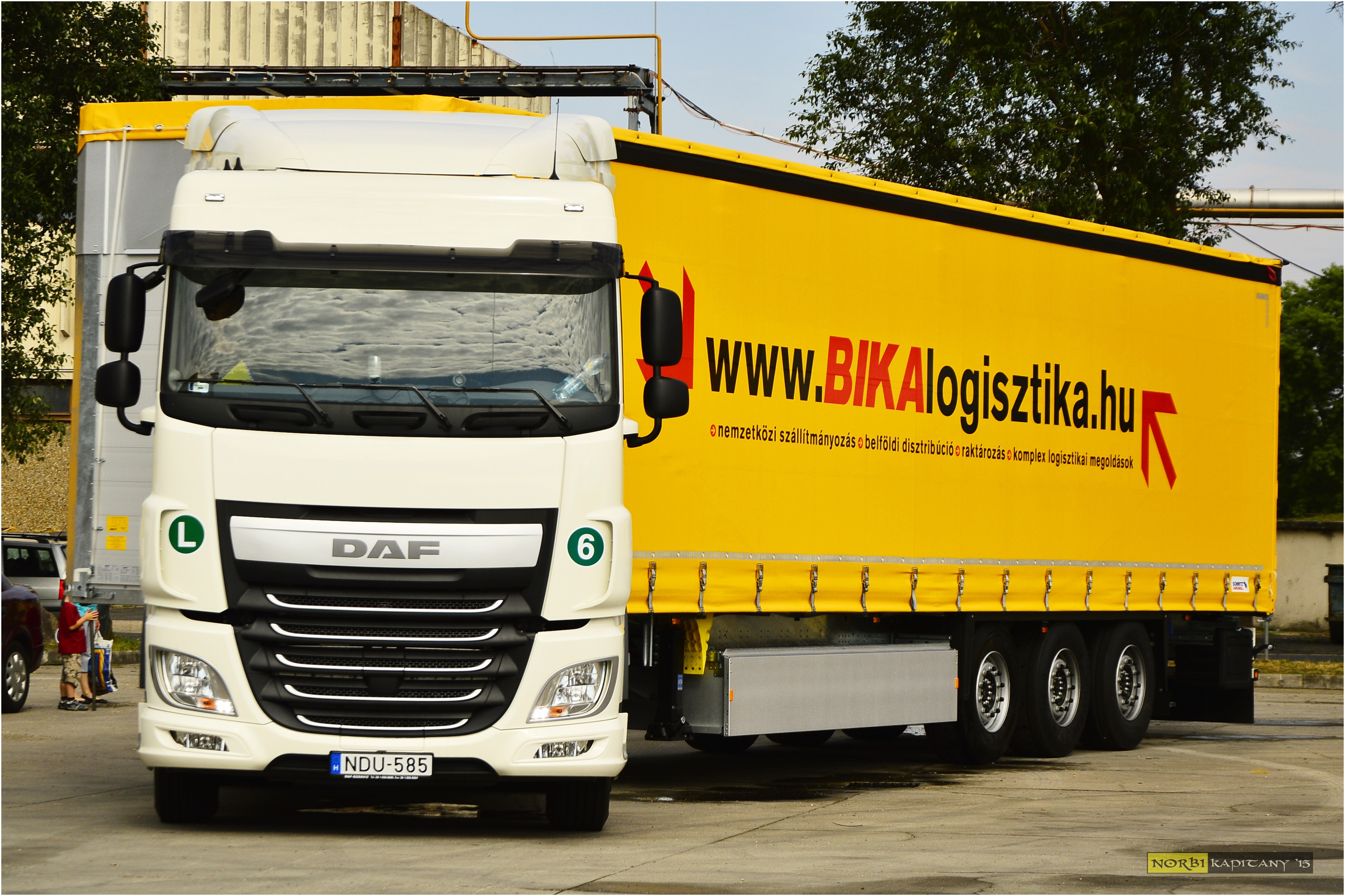 """Brand new Schmitz semitrailers arrived with """"Executive Package"""""""